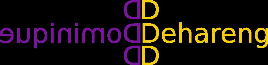 Logo Dominique Dehareng
